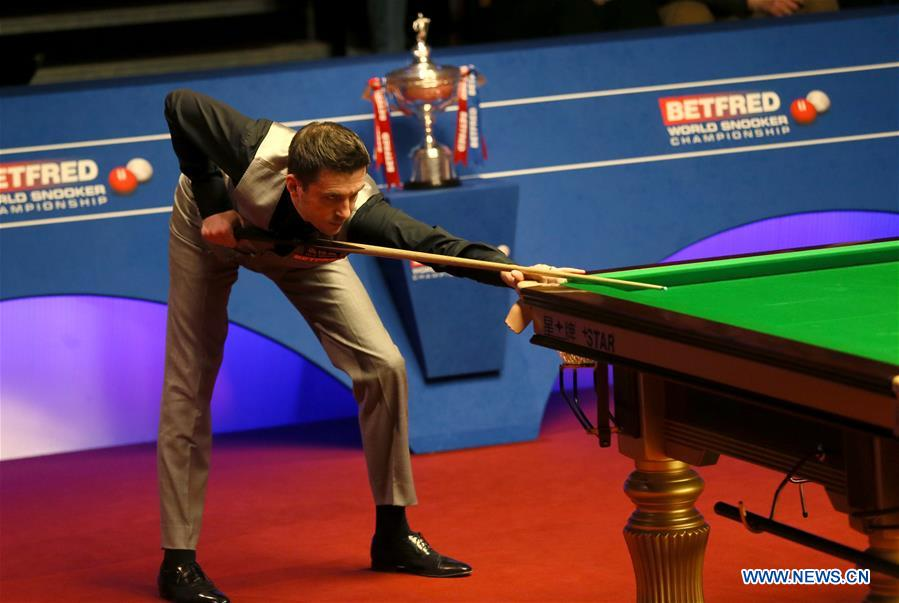 ding junhui loses to mark selby at world snooker final