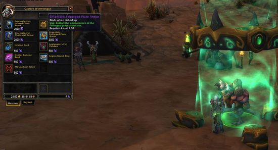 7.0 monetary meaningless fragments of warcraft: convertible new form items