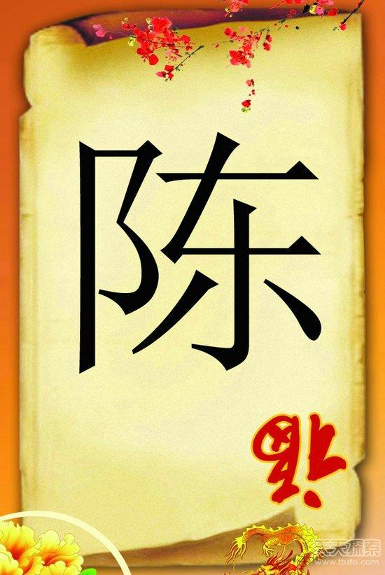 中国50大姓氏最新排名