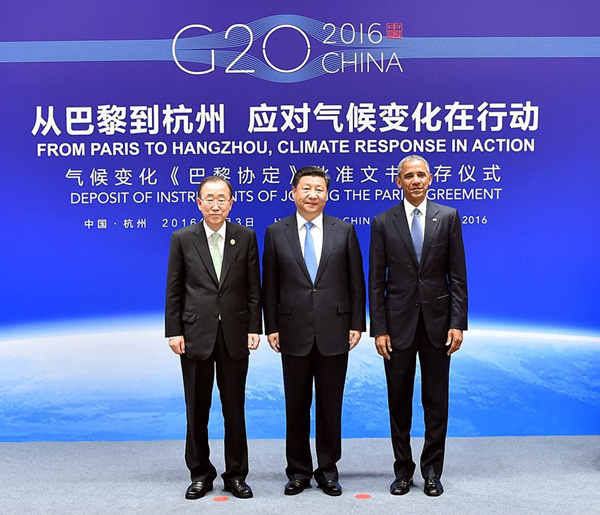 Xi, Obama commit to climate deal