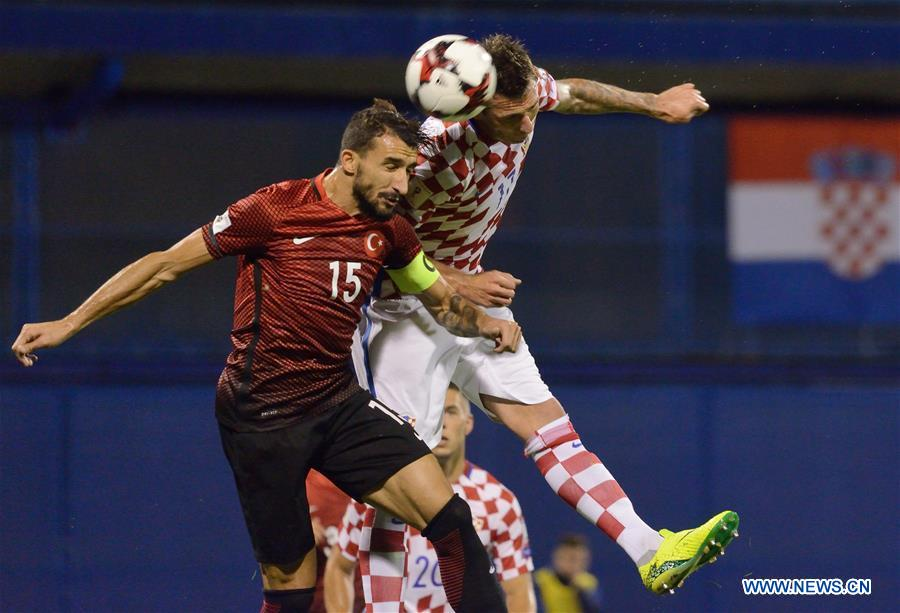 FIFA World Cup 2018 qualifying: Croatia vs. Tu