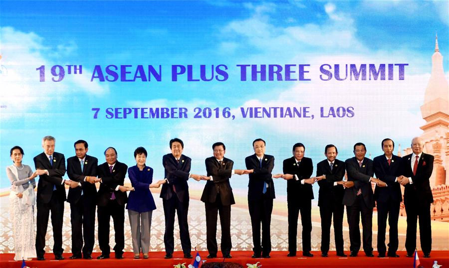 LAOS-CHINA-LI KEQIANG-ASEAN PLUS THREE-SUMMIT