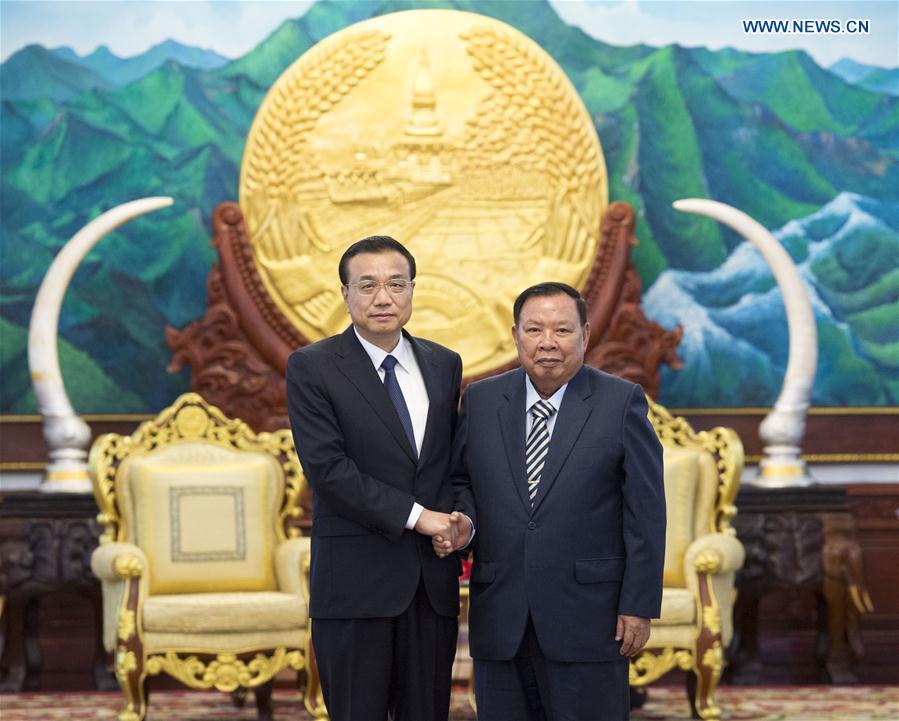 LAOS-CHINA-LI KEQIANG-MEETING