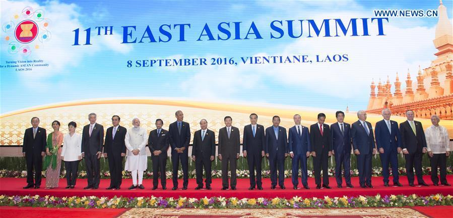 LAOS-CHINA-LI KEQIANG-EAST ASIA SUMMIT
