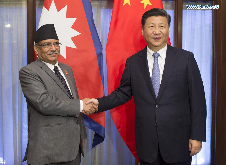 Xi suggests China, Nepal forge community of shared destiny