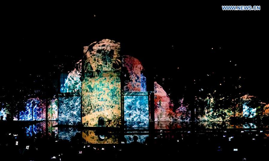 CHINA-JINGDEZHEN-3D VISUAL LIGHT SHOW (CN)