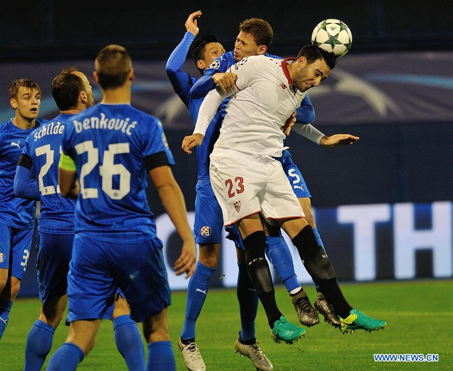 (SP)CROATIA-ZAGREB-UEFA CHAMPIONS LEAGUE