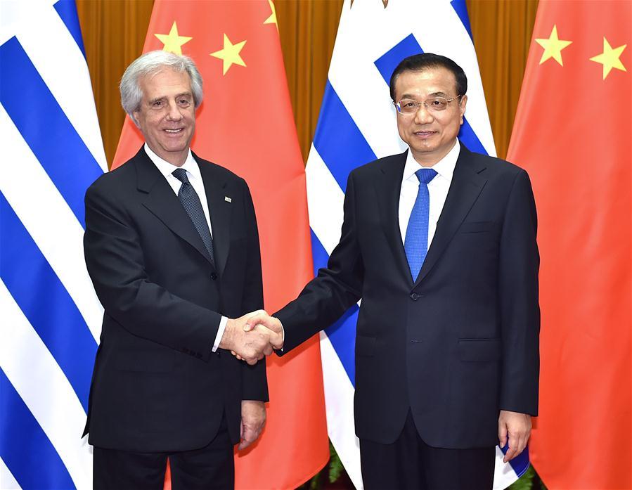 CHINA-BEIJING-LI KEQIANG-URUGUAY-MEETING (CN)