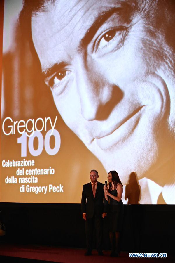 ITALY-ROME-SPANISH SQUARE-ROME HOLIDAY-GREGORY PECK