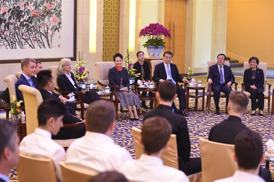 CHINA-BEIJING-PENG LIYUAN-GERMANY-MEETING (CN)