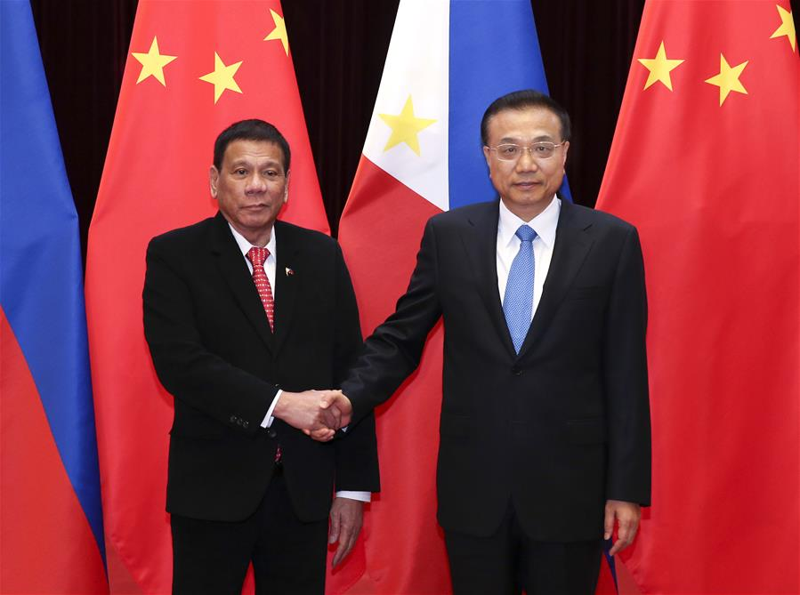 CHINA-BEIJING-LI KEQIANG-DUTERTE-MEETING (CN)