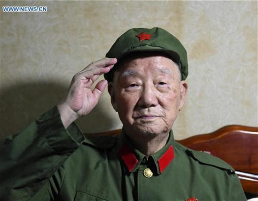 Veterans mark 80th anniv. of end of Red Army's Long March