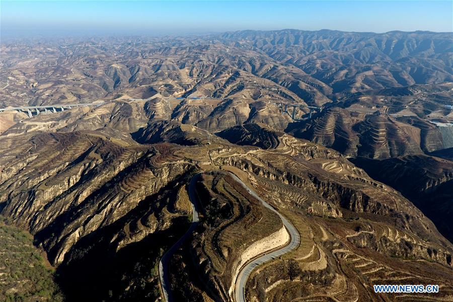 CHINA-SHANXI-LOESS PLATEAU-SCENERY (CN)