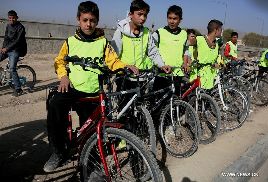 (SP)AFGHANISTAN-KABUL-CYCLING COMPETITION