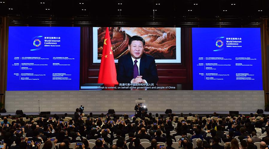 President Xi stresses int'l cooperation in cyberspace governance