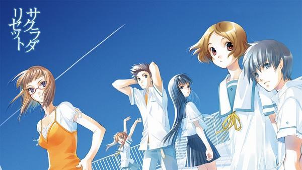 轻改动画《重启咲良田》定档明年春季
