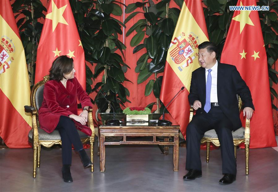 Xi eyes closer China-Spain cooperation