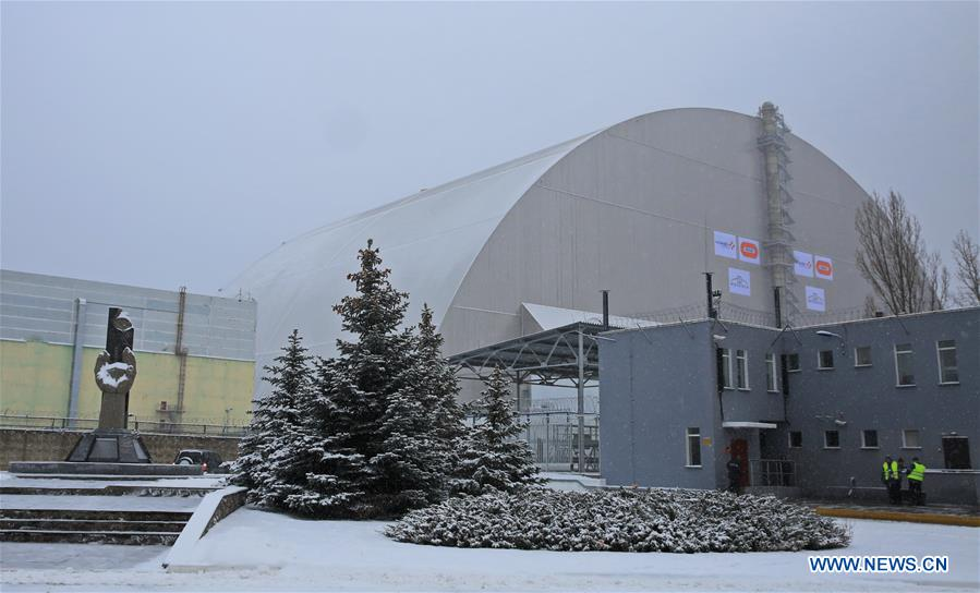 UKRAINE-CHERNOBYL-NUCLEAR REACTOR NO. 4-NEW PROTECTIVE COVER