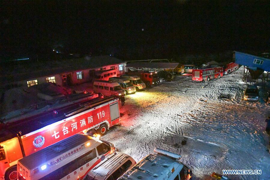 CHINA-HEILONGJIANG-COAL MINE ACCIDENT (CN)