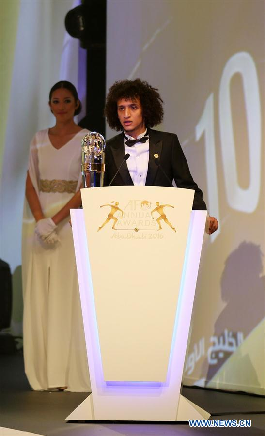 (SP)UAE-ABU DHABI-SOCCER-AFC-ANNUAL AWARDS CEREMONY
