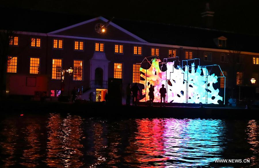NETHERLANDS-AMSTERDAM-LIGHT FESTIVAL