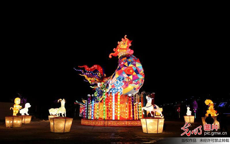 The 4th Chengde Dingsheng Imperial Lantern Festival held in China's Hebei Province