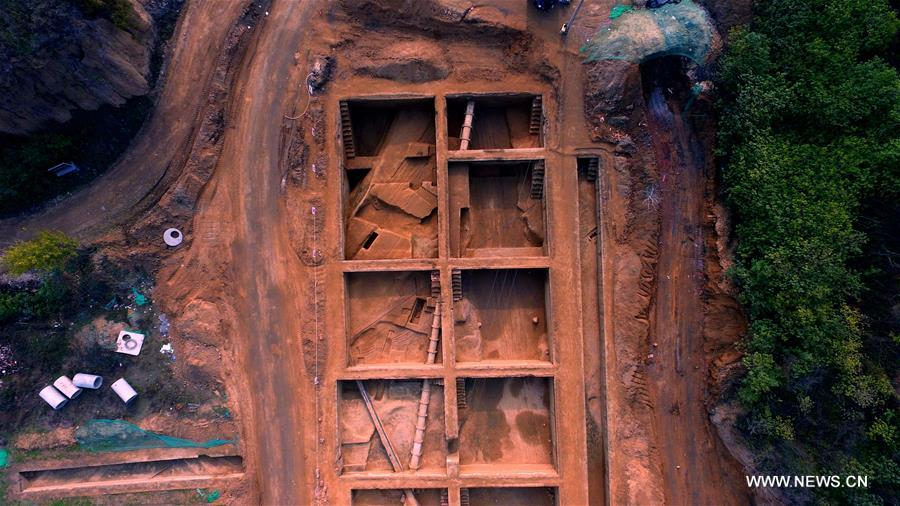 The first city gate has been unearthed after 50 plus years of archeological work on the ancient city of Zhenghan.