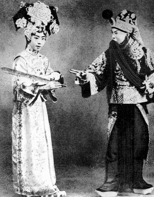 Old Beijing in Peking Opera's Heyday