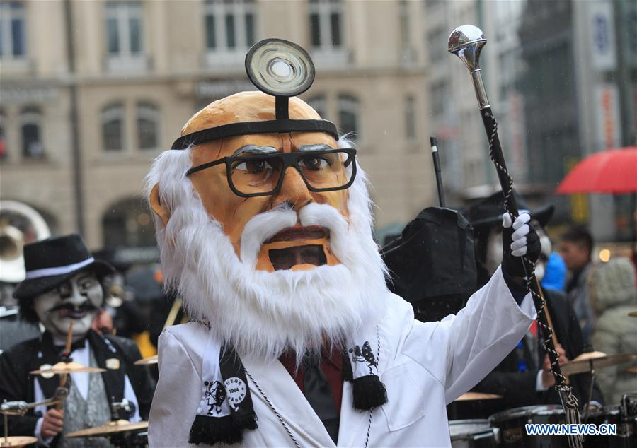 SWITZERLAND-BASEL-CARNIVAL-PROCESSION