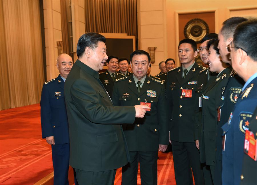 Xi underlines innovation in military upgrading