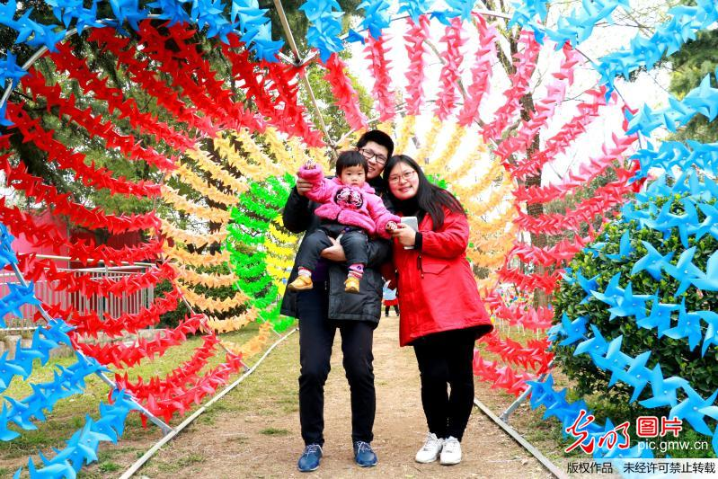 Pinwheel festival attracts citizens' attention in E China's Jiangsu Province