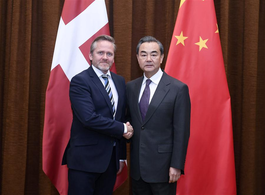CHINA-BEIJING-WANG YI-DANISH FM-TALKS (CN)