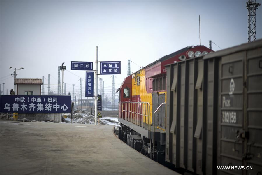 CHINA-XINJIANG-TRAINS-TRADE (CN)