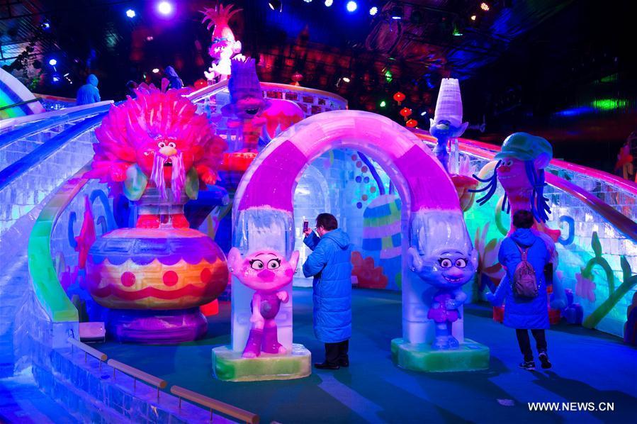 CHINA-MACAO-ICE WORLD-TOURISM (CN)