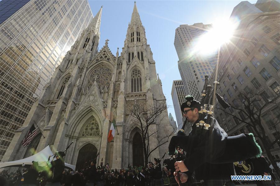 U.S.-NEW YORK-ST. PATRICK'S DAY-PARADE