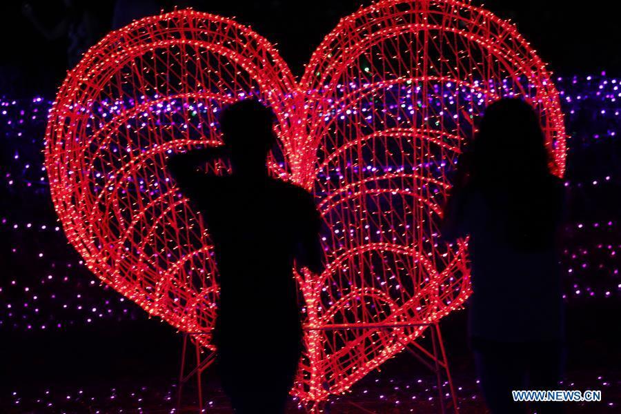 MYANMAR-YANGON-LIGHTING FESTIVAL