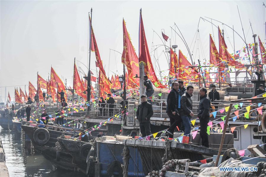 CHINA-LIAONING-RITUAL-FISHING(CN)