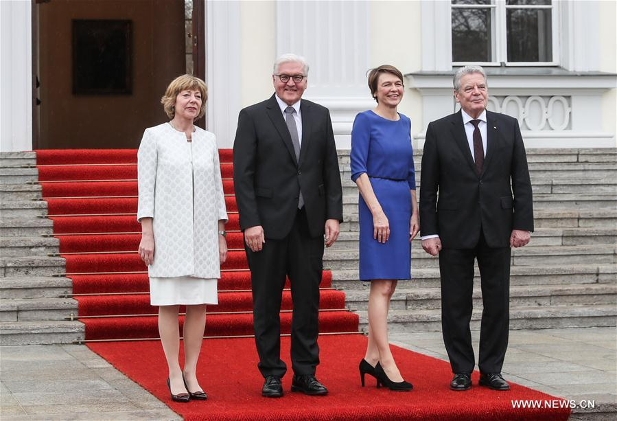 GERMANY-BERLIN-PRESIDENT-HANDOVER
