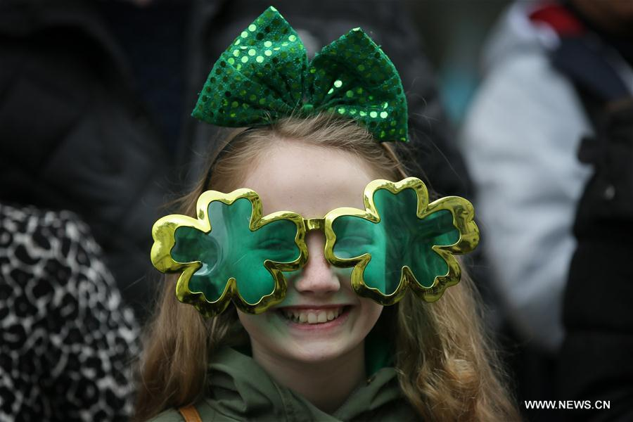BRITAIN-LONDON-ST. PATRICK'S DAY-CELEBRATION
