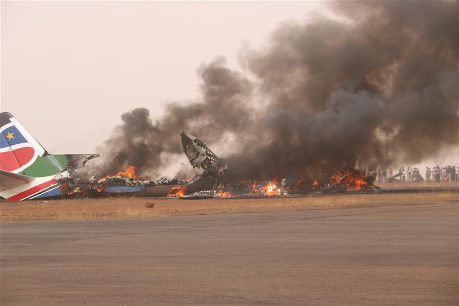 SOUTH SUDAN-WAU-PLANE-CRASH