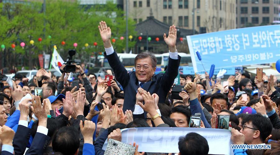 SOUTH KOREA-SEOUL-ELECTION-CANDIDATE