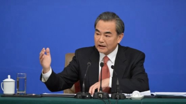 Chinese Foreign Minister Wang Yi.[Photo: CGTN]