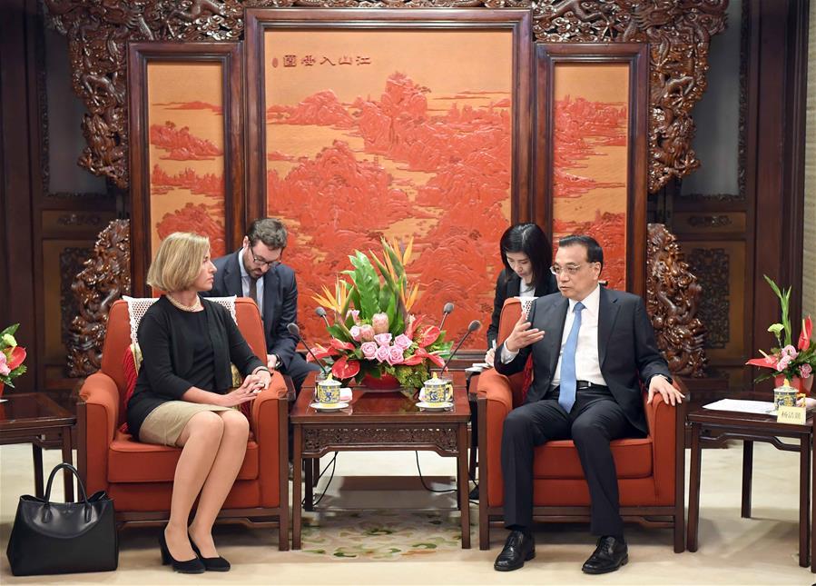 CHINA-BEIJING-LI KEQIANG-EU-MEETING(CN)