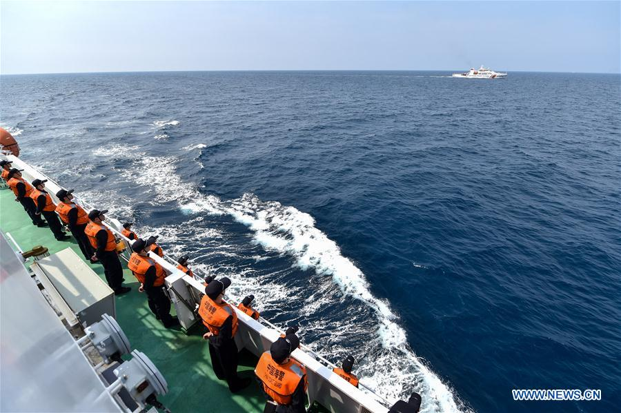 CHINA-VIETNAM-JOINT FISHERY INSPECTION-BEIBU GULF(CN)