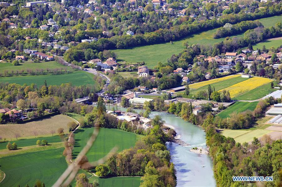 SWITZERLAND-GENEVA-SPRING-SCENERY