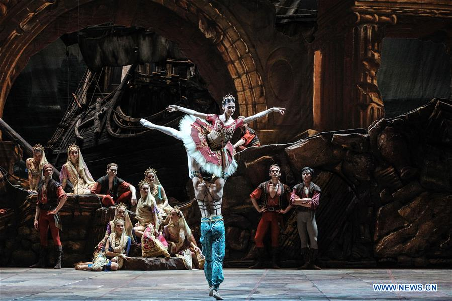HUNGARY-BUDAPEST-BALLET-LE CORSAIRE