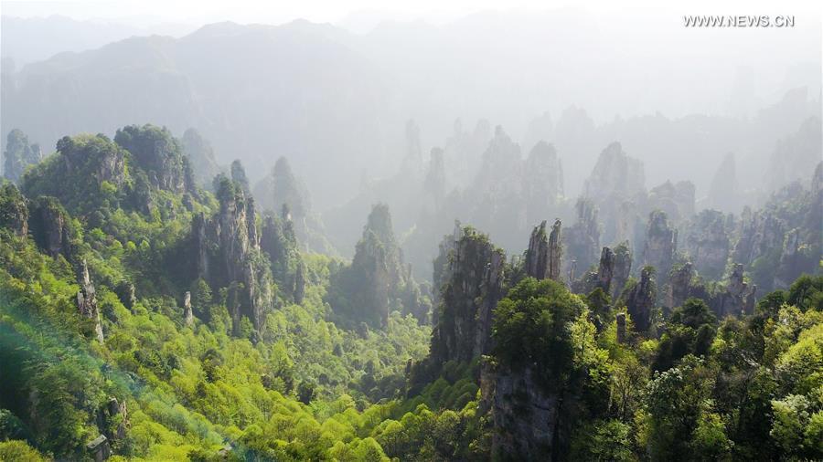 CHINA-ZHANGJIAJIE-SCENERY (CN)