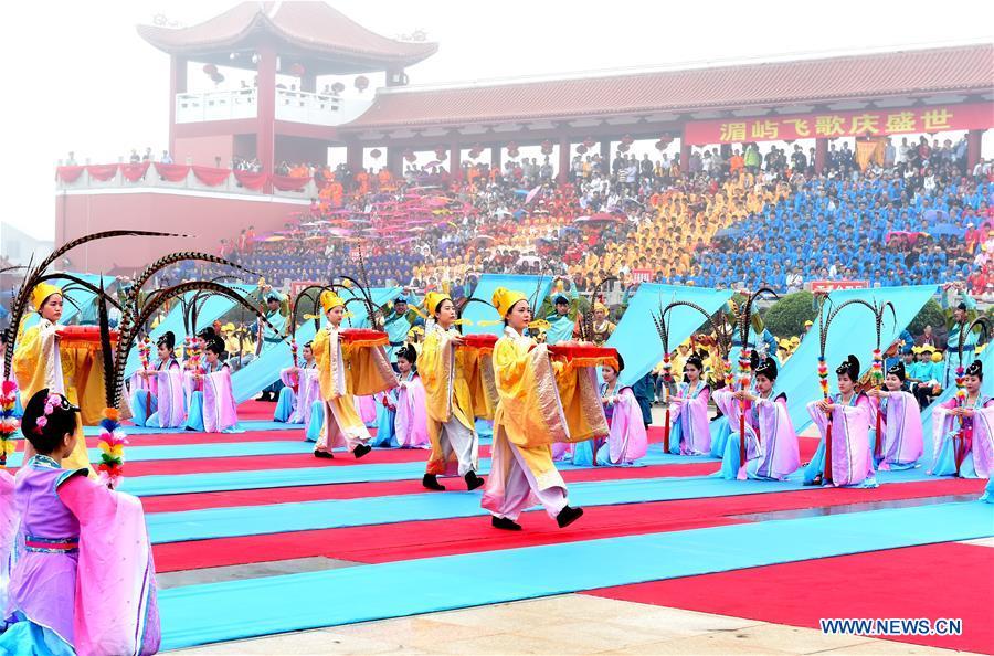CHINA-PUTIAN-MAZU-BIRTHDAY-ANNIVERSARY-CEREMONY (CN)
