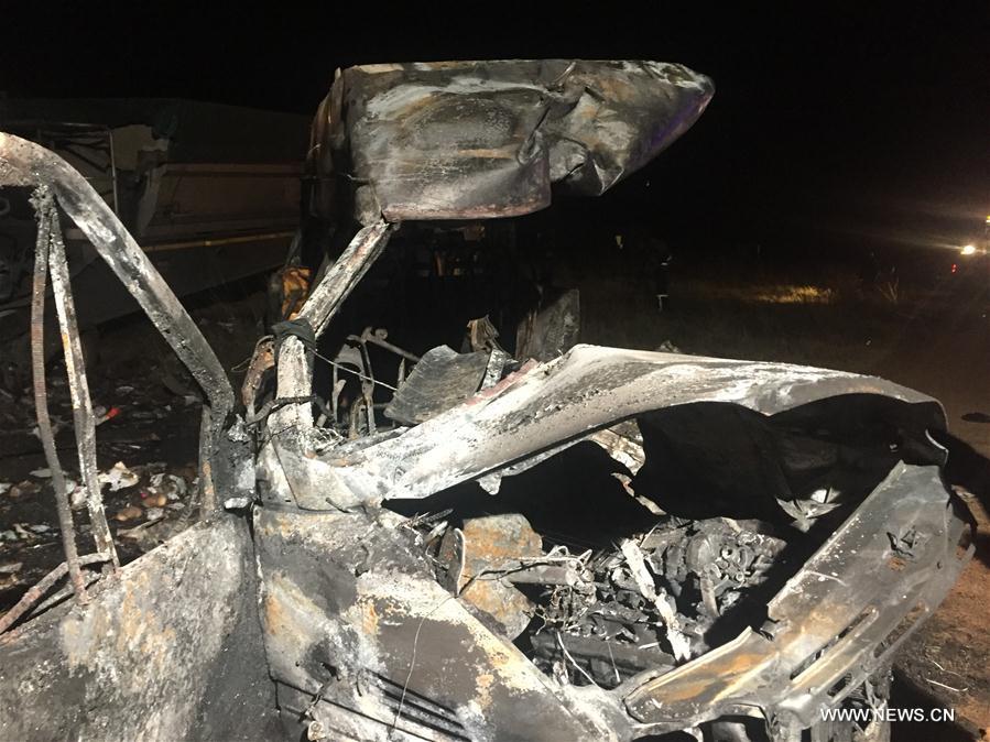SOUTH AFRICA-GAUTENG-TRAFFIC ACCIDENT