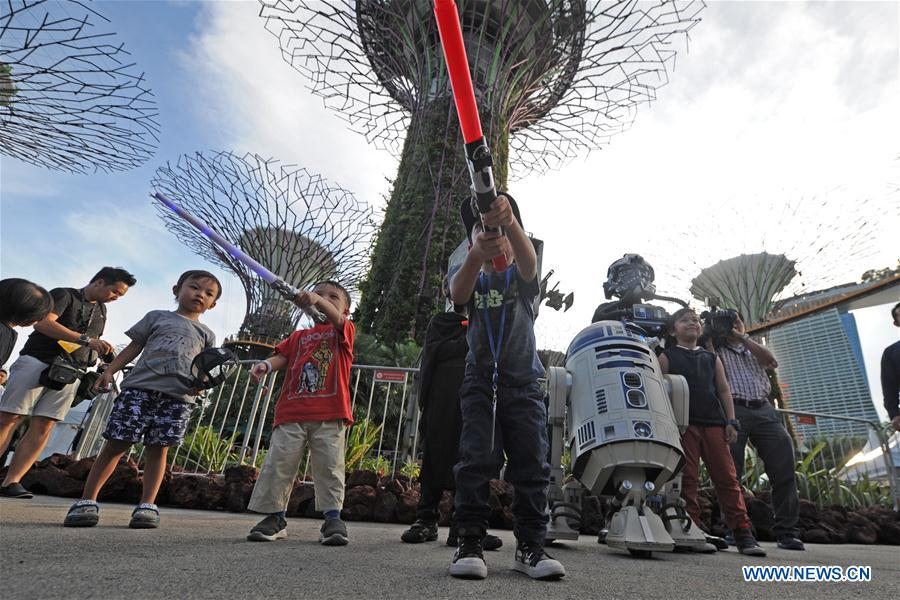 SINGAPORE-STAR WARS DAY